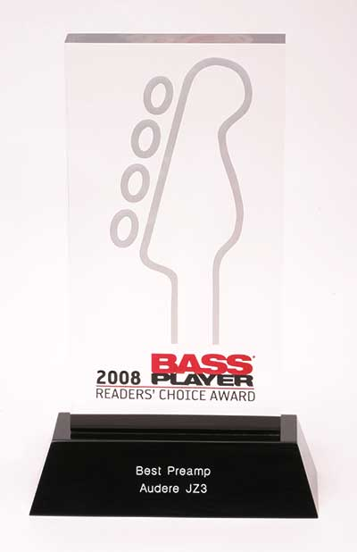 Bass Players Readers Choice Trophy