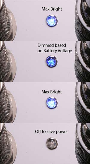 Battery LED Sequence